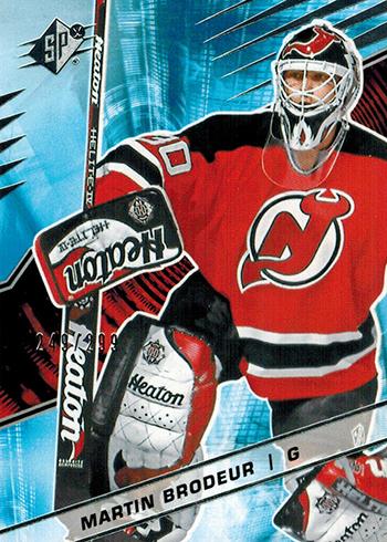 2018-19 SPx Hockey Martin Brodeur