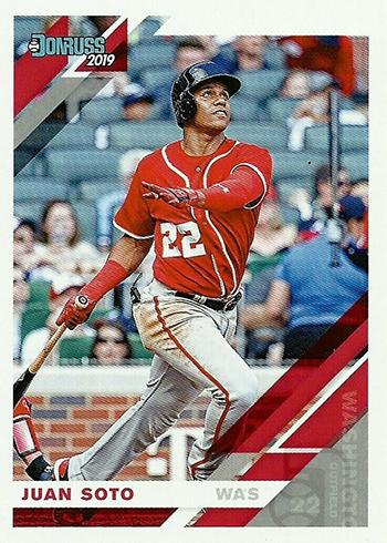 2019 Donruss Baseball 61 Juan Soto
