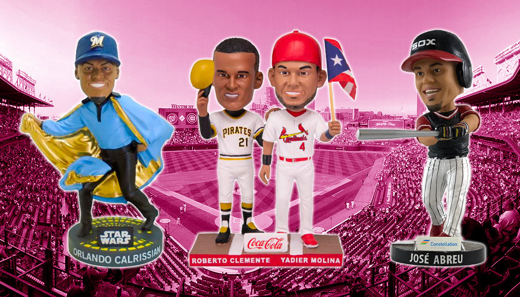 2019 Bobblehead MLB Stadium Giveaways Schedule and List