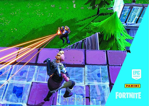 2019 Panini Fortnite Series 1 Trading Cards Gameplay