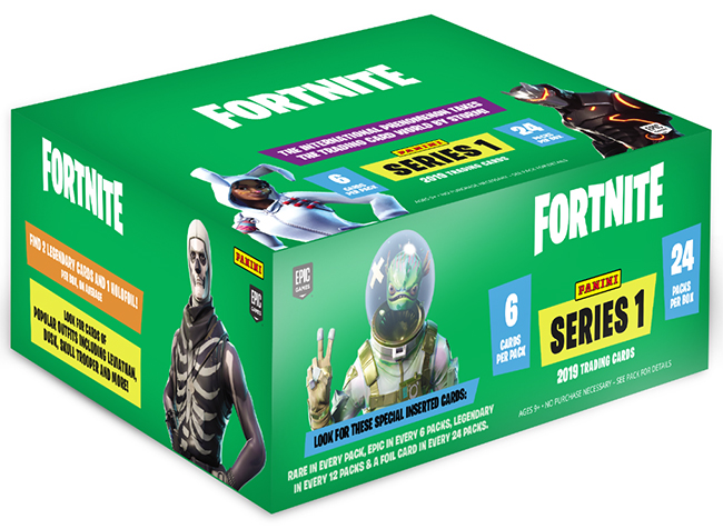 3 Per Package Fortnite Series 1 2019 Trading Cards