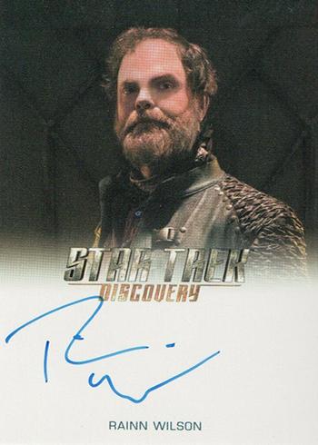 2019 Rittenhouse Star Trek Discovery Season 1 Full Bleed Autographs Rainn Wilson
