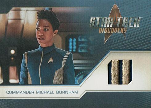 2019 Rittenhouse Star Trek Discovery Season 1 Relic Card RC1 Commander Michael Burnham