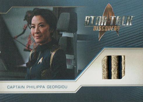 2019 Rittenhouse Star Trek Discovery Season 1 Relic Cards RC3 Captain Philippa Georgiou
