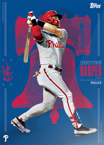 2019 Topps Bryce Harper Limited Edition Phillies A