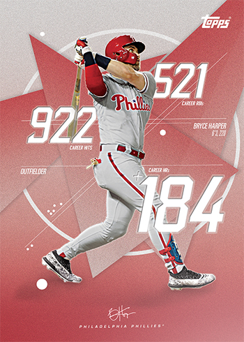 First Bryce Harper Philadelphia Phillies Baseball Cards From