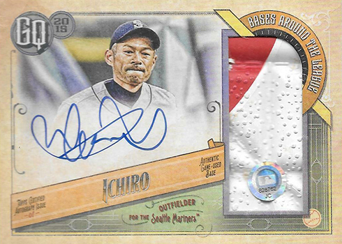 2019 Topps Gypsy Queen Baseball Bases Around the League Autographs Ichiro