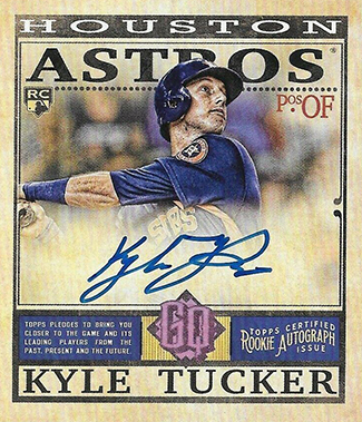 2019 Topps Gypsy Queen Baseball Mini Rookie Autographs Kyle Tucker