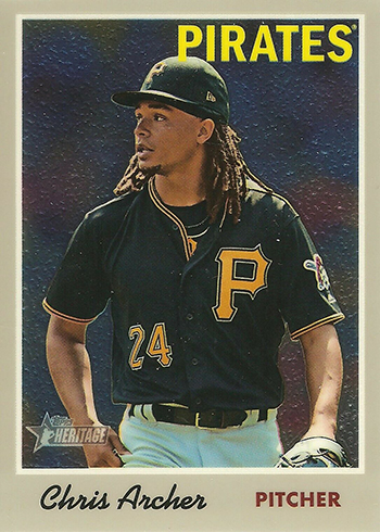 2015 Topps Heritage Retail Chrome Foil #THC-429 Jacob deGrom New York Mets Card