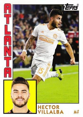 2019 Topps MLS Throwback Topps Hector Villalba