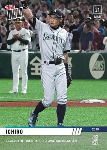 2019 Topps Now Baseball 7 Ichiro