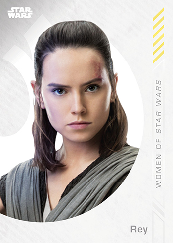 2019 Topps On-Demand Women of Star Wars Base Rey