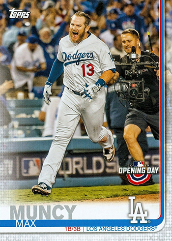 2019 Topps Opening Day Baseball Variations 67 Max Muncy