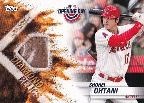 2019 Topps Opening Day Diamond Relics Shohei Ohtani