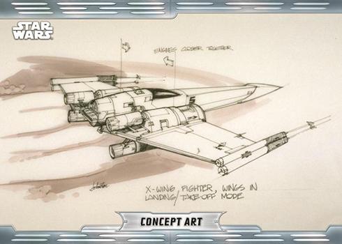 2019 Topps Star Wars Chrome Legacy Concept Art