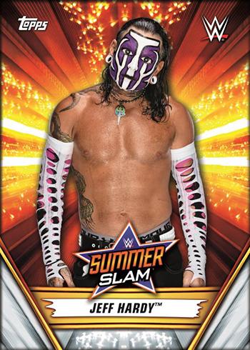 2019 Topps WWE SummerSlam Base