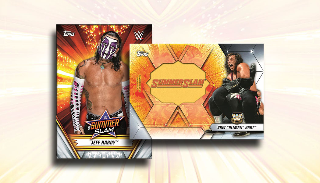 Slam attax rumble-casket match MATCH type
