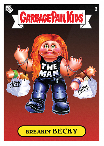 00cbea20a 2019 Topps WWE x Garbage Pail Kids Checklist, Print Runs and Details