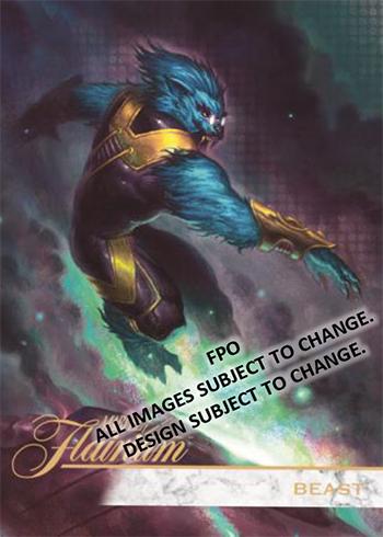 2019 Upper Deck Flair Marvel Flairium Beast