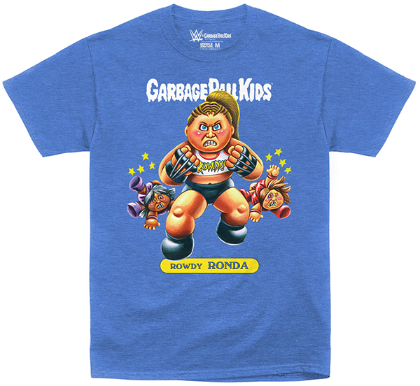 WWE x Garbage Pail Kids Rowdy Ronda Shirt 600