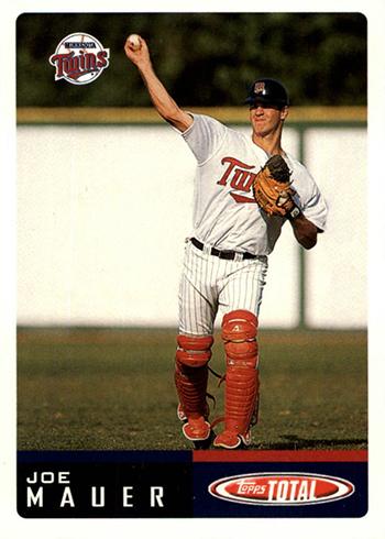 2002 Topps Total Baseball Joe Mauer