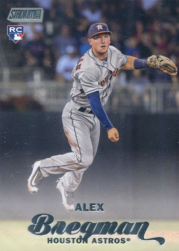 2017 Stadium Club Alex Bregman RC