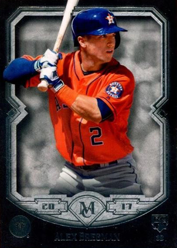 2017 Topps Museum Collection Alex Bregman RC