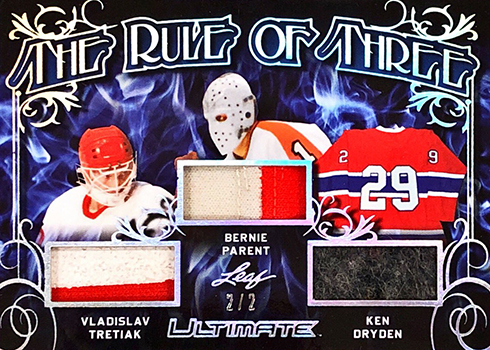 2018 19 Leaf Ultimate Hockey Cards Checklist Details