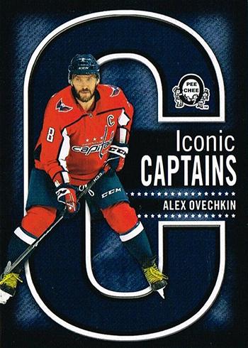 2018-19 O-Pee-Chee Coast-to-Coast Hockey Iconic Captains Alex Ovechkin