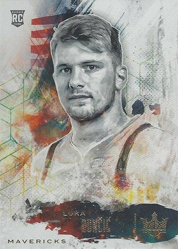 2018-19 Panini Court Kings Basketball Rookies I Luka Doncic