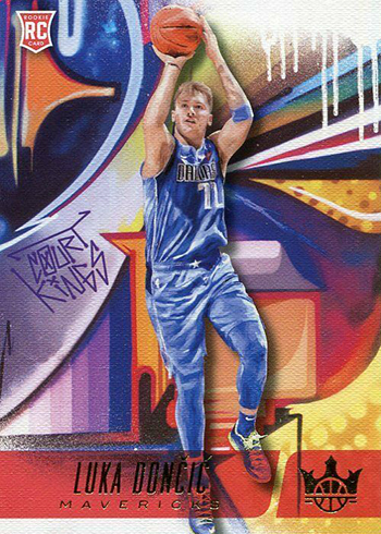 2018-19 Panini Court Kings Basketball Rookies II Luka Doncic
