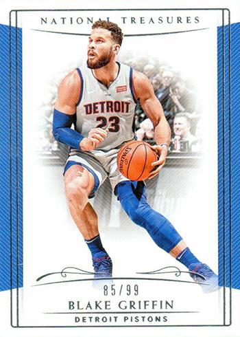 2018-19 Panini National Treasures Basketball Blake Griffin