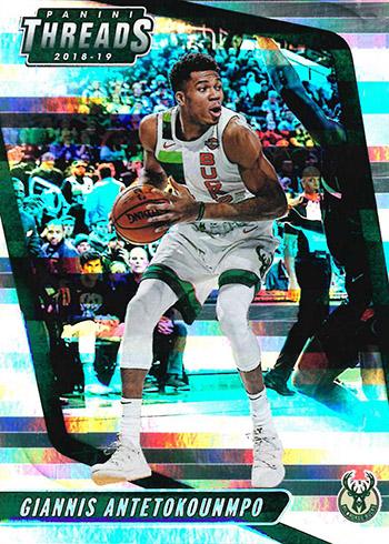 2018-19 Panini Threads Premium Basketball Base Card