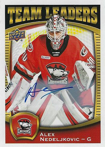 2018-19 Upper Deck AHL Team Leaders Autographs Alex Nedeljkovic
