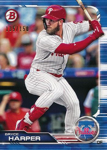 2019 Bowman Baseball Blue Bryce Harper