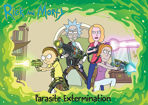 2019 Cryptozoic Rick and Morty Season 2 Base