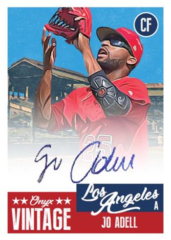 2019 Onyx Vintage Baseball Adell