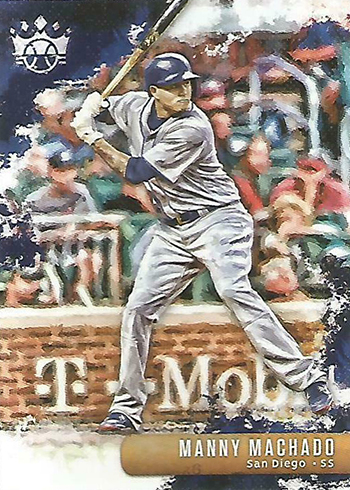 2019 Panini Diamond Kings Baseball 149 Manny Machado