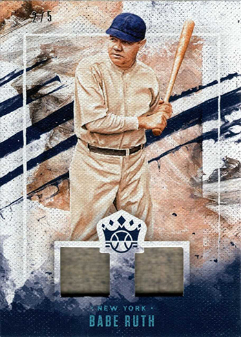 2019 Panini Diamond Kings Baseball DK Materials Babe Ruth