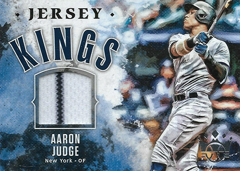 2019 Panini Diamond Kings Baseball Jersey Kings Aaron Judge