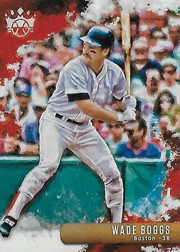 2019 Panini Diamond Kings Baseball Variations 22 Wade Boggs