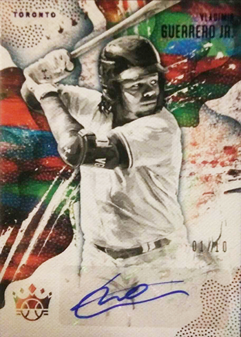 2019 Panini Diamond Kings DK Signatures Vladimir Guerrero Jr