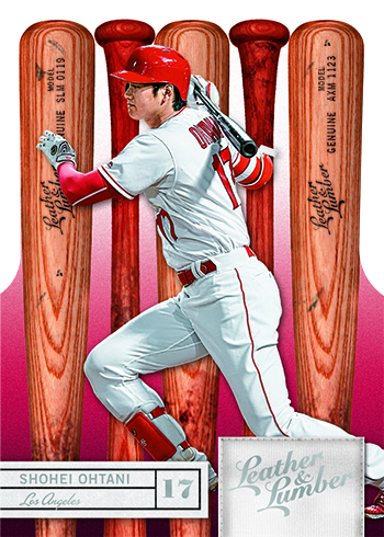 2019 Panini Leather and Lumber Baseball Base Bat