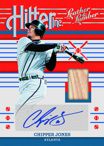 2019 Panini Leather and Lumber Baseball Hitter Inc