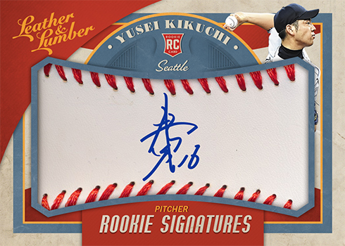 2019 Panini Leather and Lumber Baseball Rookie Autographs Baseball