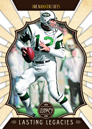 2019 Panini Legacy Football Lasting Legacies