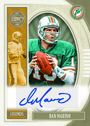 2019 Panini Legacy Football Legends Premium Penmanship