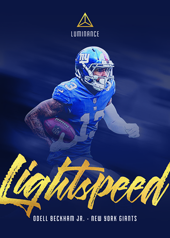 2019 Panini Luminance Football Lightspeed