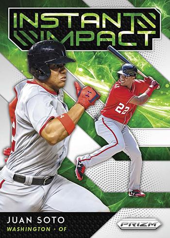 2019 Panini Prizm Baseball Instant Impact
