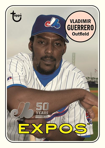 2019 Topps Archives Baseball 50th Anniversary of the Montreal Expos